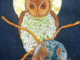 David Attenborough Owl Keeps Guard